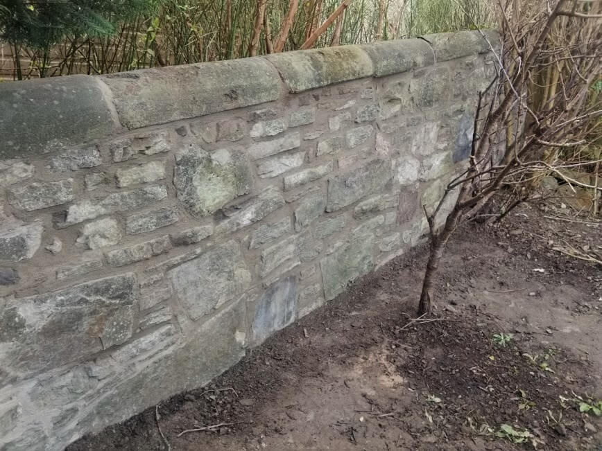 Lime Pointing For Stonemasonry Work